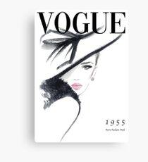 Vogue Fashion Magazine Cover Leinwanddruck