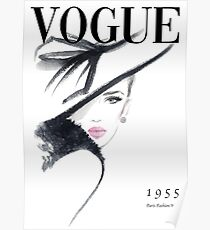 Vogue Fashion Magazine Cover Poster
