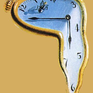 Salvador Dali: The Persistence of Memory by Carpaccio