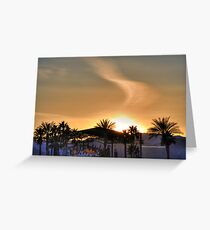 Scenes from Cali VII Greeting Card
