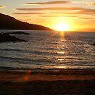 Sunset At Honeymoon Bay by Sprinkla