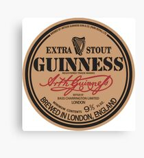 Old Style Guinness Logo - David Gilmour Canvas Print