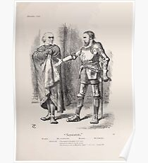 Cartoons by Sir John Tenniel selected from the pages of Punch 1901 0105 Separatists Poster