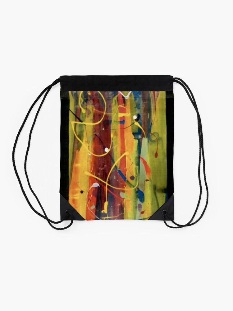 Alternate view of Open Flame Drawstring Bag