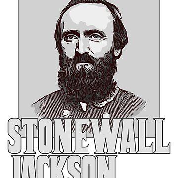 Stonewall Jackson Shirt | General Stonewall Jackson Portrait by n--o--n