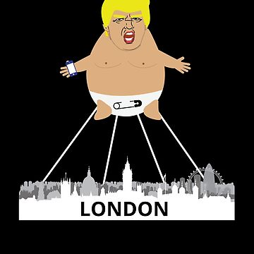 London Trump Baby Balloon by Pointee