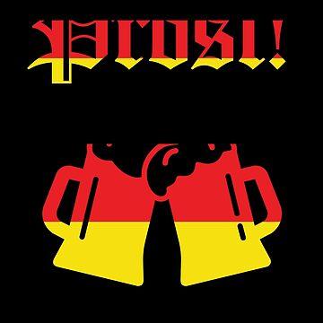 Germany Prost Oktoberfest Oktoberfest by Pointee