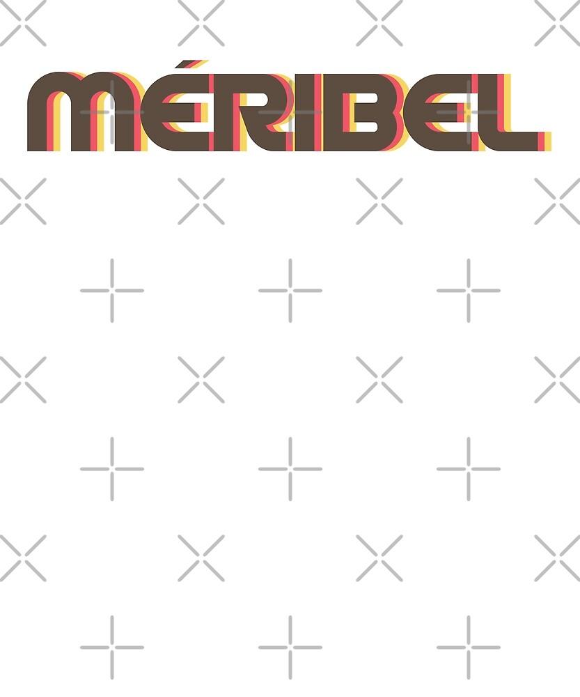 Retro Meribel T-Shirt by designkitsch