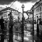Piccadilly Circus 12.11.2018 by Cameron Hampton
