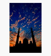 The Night Divides the Day Photographic Print