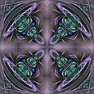 Art Nouveau - Pattern for a tile by Ineke-2010
