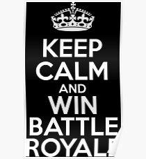 Battle Royale gewinnen Poster