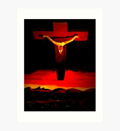 This is not about Religion. Art Print