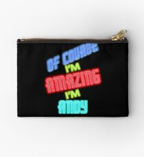 Of Course I'm Amazing I'm ANDY T-Shirt Name Shirt Studio Pouch