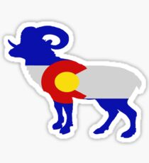 Colorado Big Horn Sheep Sticker