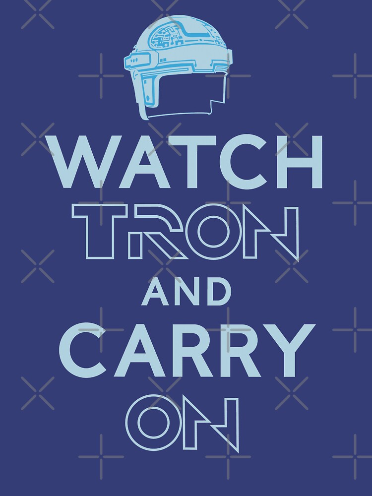 WATCH TRON and CARRY ON by BartsGeekGifts