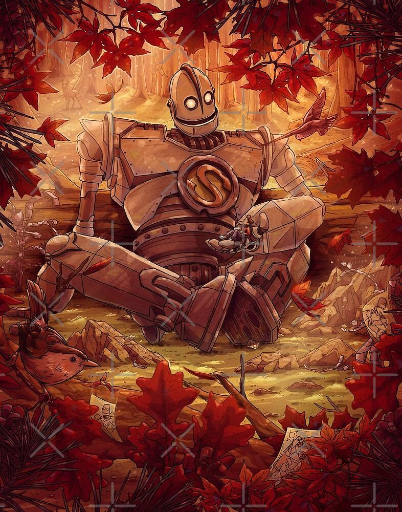 """""""Souls Don't Die Iron Giant Fan Art"""" by TaylorRoseArt ..."""