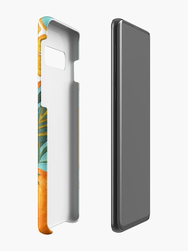Alternate view of Lady Orange Cases & Skins for Samsung Galaxy