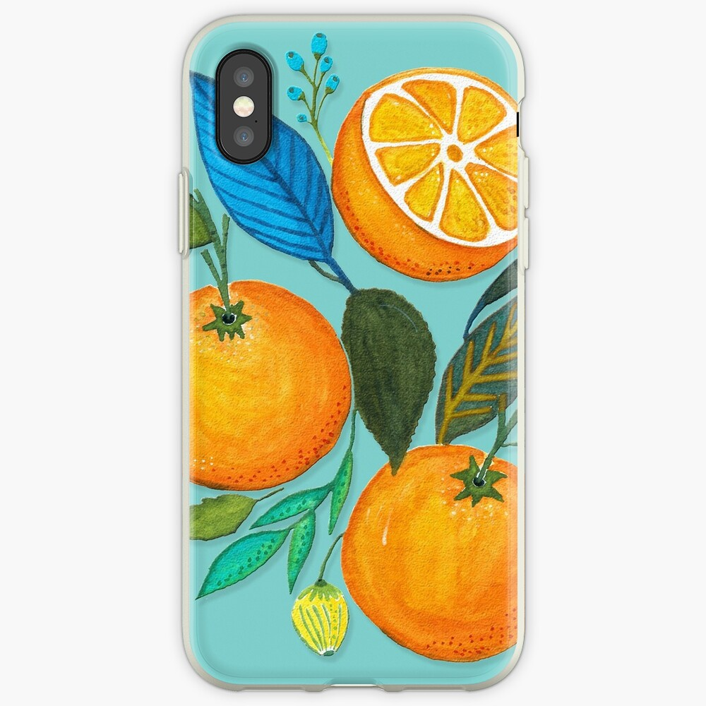 Lady Orange Vinilos y fundas para iPhone