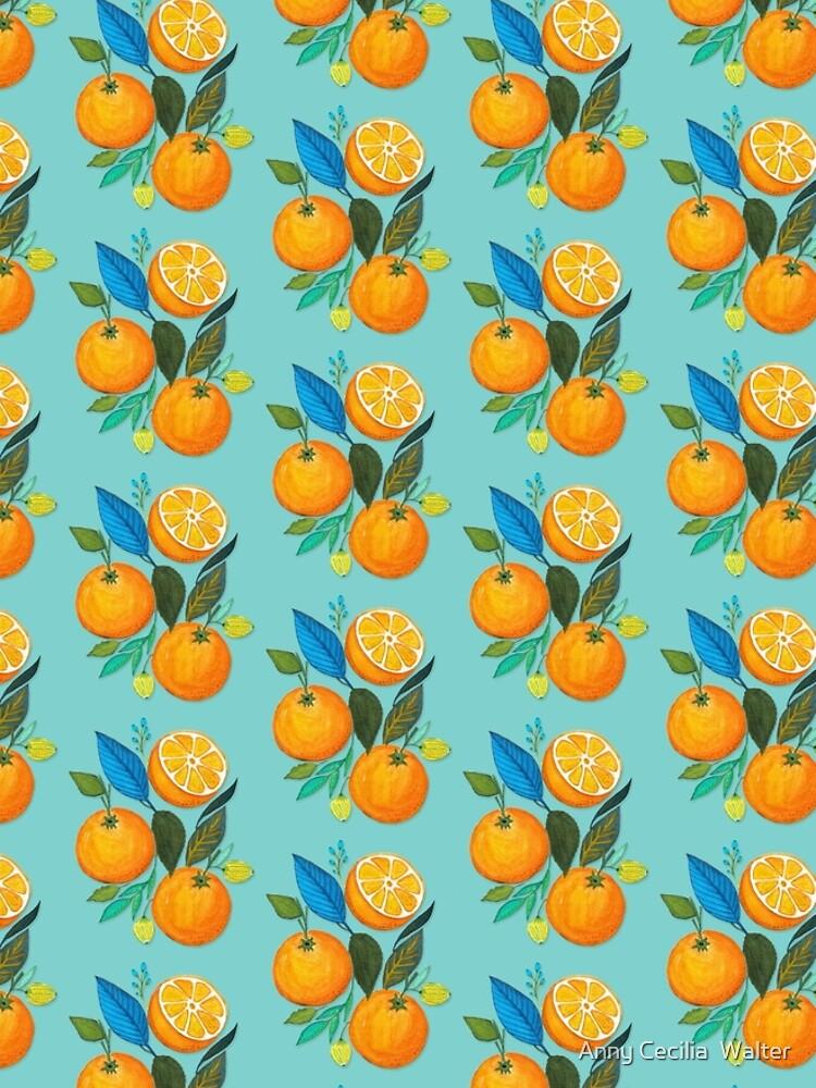 Lady Orange by AnnyCeciliaWalt