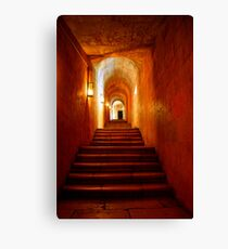 Secret passageway Canvas Print