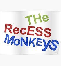 Die Aussparung Affen Poster