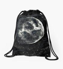 Aquarell Mond Turnbeutel