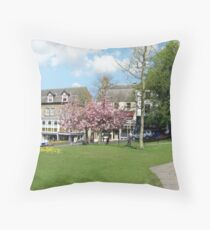 Montpellier Gardens Harrogate Throw Pillow