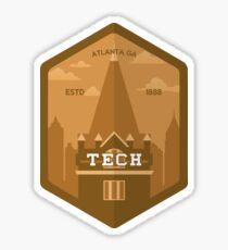 Tech Tower Sticker