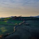 Marche's hills, Italy by Alessio Michelini