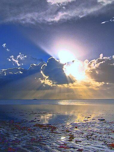 Sunrise Splash - Saturated (1173 views + 10 times featured) by Ben Mattner