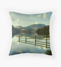 The Fence and Mellbreak Throw Pillow