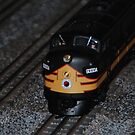 Small Train by Vonnie Murfin