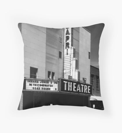 The Capri~Shebyville Tennessee Throw Pillow