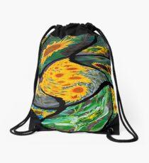 Sunflowers & Smiles Drawstring Bag