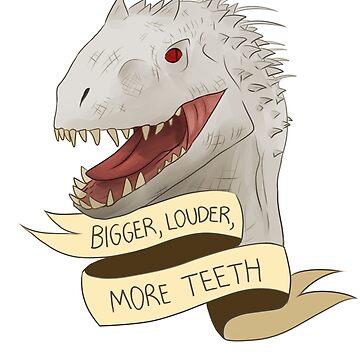 Indominus Rex by kaijupunk