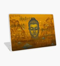 Buddha. The message Laptop Skin