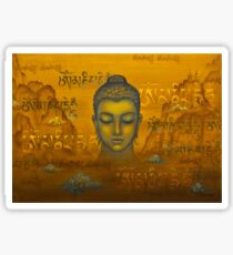 Buddha. The message Sticker