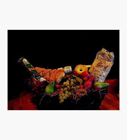 A Basket for Two Photographic Print