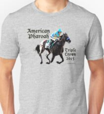 American Pharoah Triple Crown 2015 Unisex T-Shirt