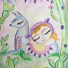 Lama love by MarleyArt123
