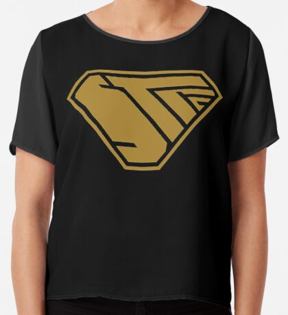 STPC SuperEmpowered (Gold) Chiffon Top
