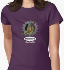 Donnie's Garage Women's Fitted T-Shirt