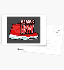 ALL I DO IS WIN Postcards
