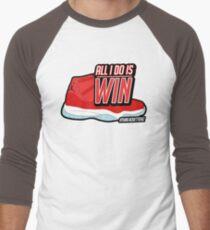 ALL I DO IS WIN Men's Baseball ¾ T-Shirt