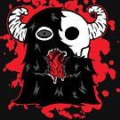 Skullface Monster Has Your Heart (Splatter Version) by emo-seal