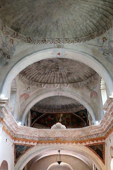 San Xavier Ceiling 1 by marybedy