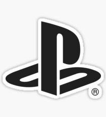 Playstation Logo (Black) Sticker