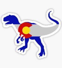 Colorado Allosaurus  Sticker