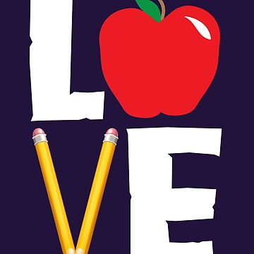 Love Teaching Cute Teacher Appreciation by AlwaysAwesome